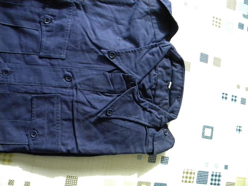Chemises bleu chasseur ou aviation mle 41 Dscn5816