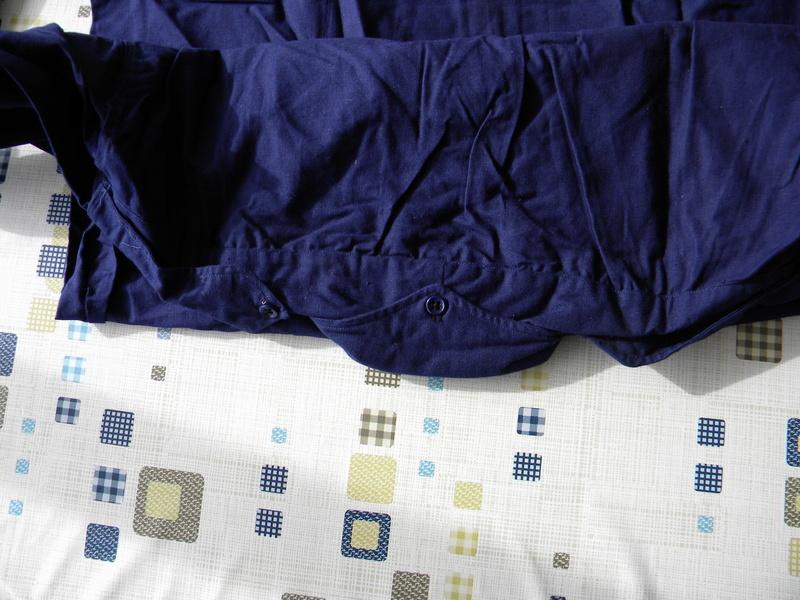 Chemises bleu chasseur ou aviation mle 41 Dscn5817