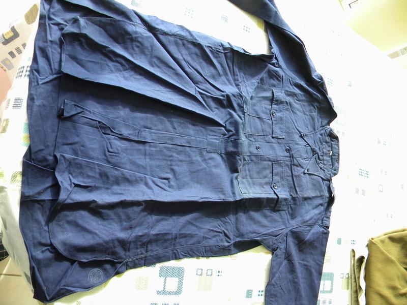 Chemises bleu chasseur ou aviation mle 41 Dscn5818