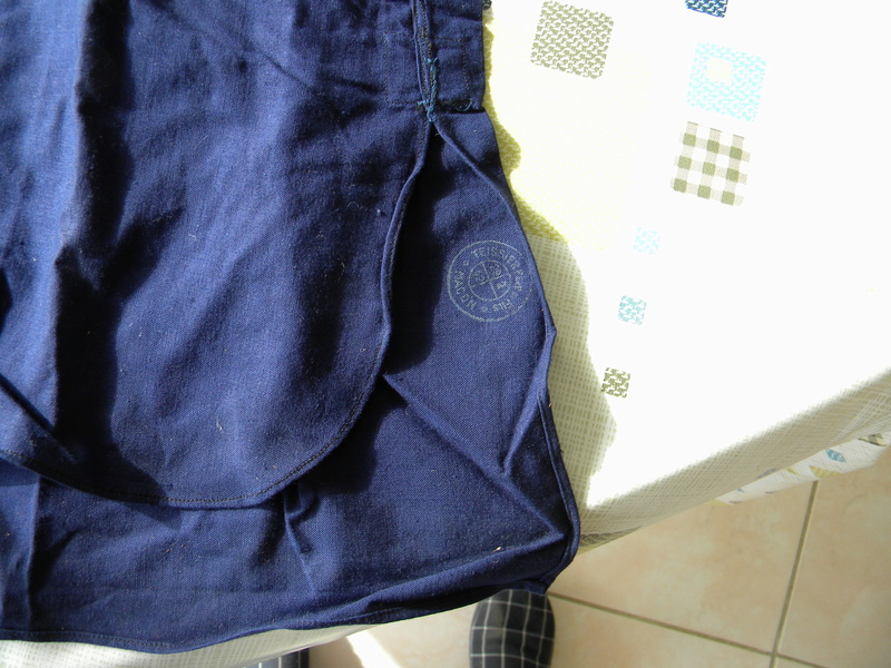 Chemises bleu chasseur ou aviation mle 41 Dscn5819