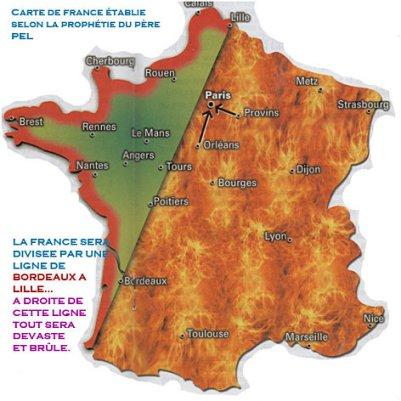 Prophéties : Un Grand Monarque sauvera la France - Selon l'Abbé Souffrant et le Père Pel ! Carte-12