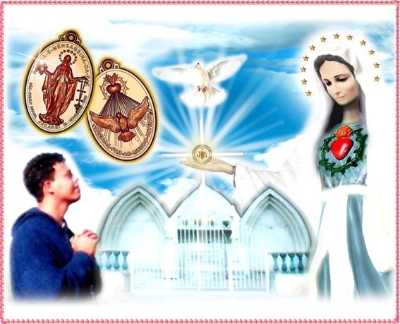 Les pouvoirs de guérison de la Médaille Miraculeuse - Extraits d'un Message d'Enoch ! Medalh10
