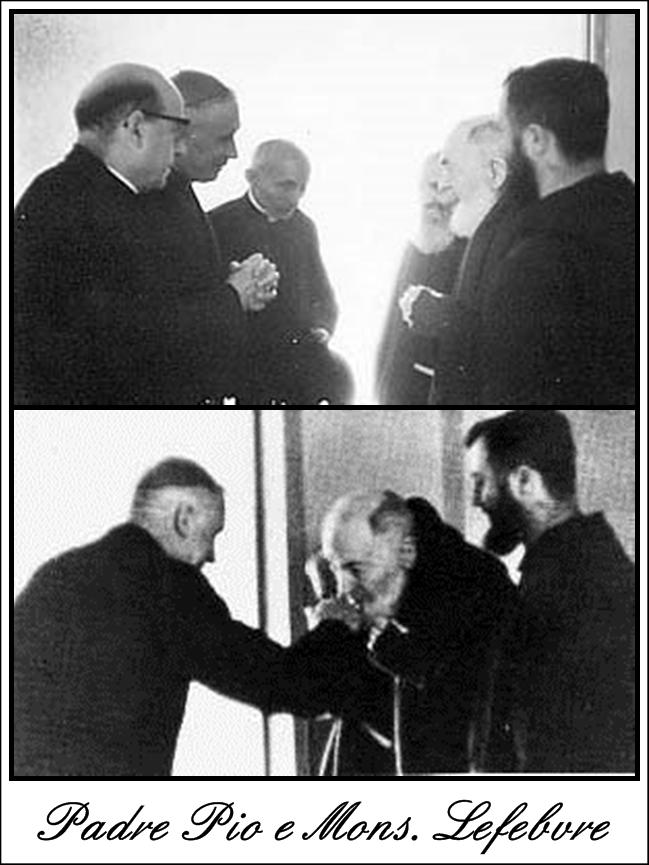 Le Schisme de la FSSPX : Padre Pio avait prophétisé et sermonné Mgr Lefebvre sur le schisme à venir Padre_10