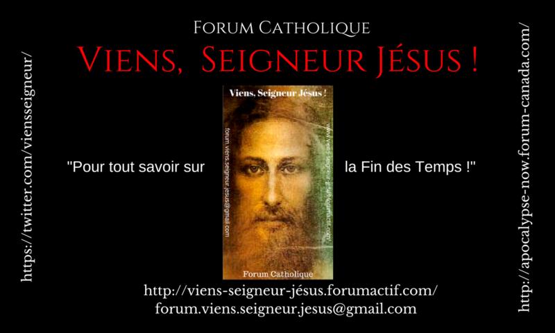 """Nous avons reçu la carte d'affaires du Forum """"Viens, Seigneur Jésus"""" ! Viens_19"""