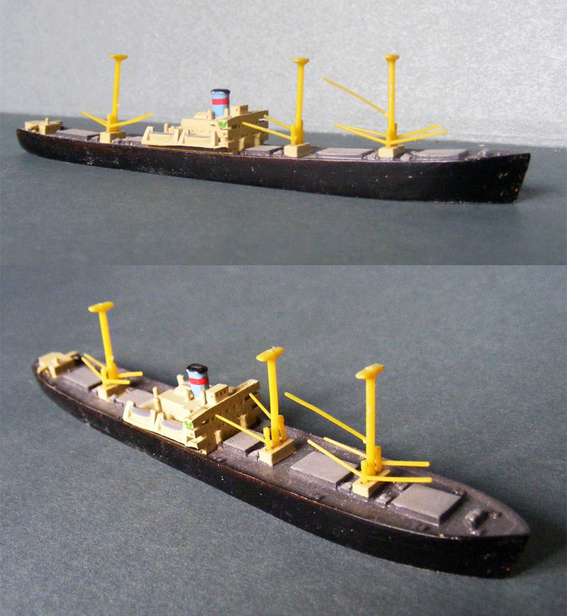 Hansa S81 1/1250 Liberty ship 0112