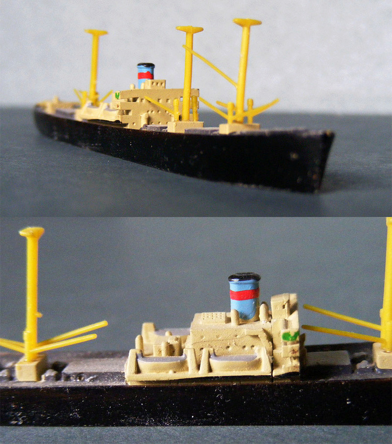 Hansa S81 1/1250 Liberty ship 0312
