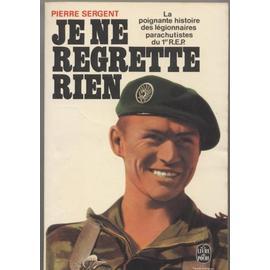 PIERRE SERGENT  Je-Ne-Regrette-Rien 84427510