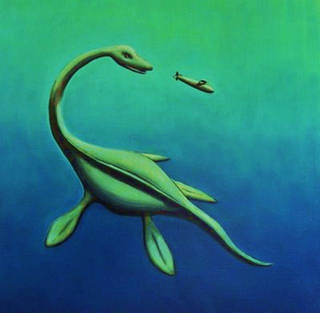 Geheimnisvolle Begegnungen - von Bigfoot, Nessie, Aliens und anderen Kreaturen  Nessy210