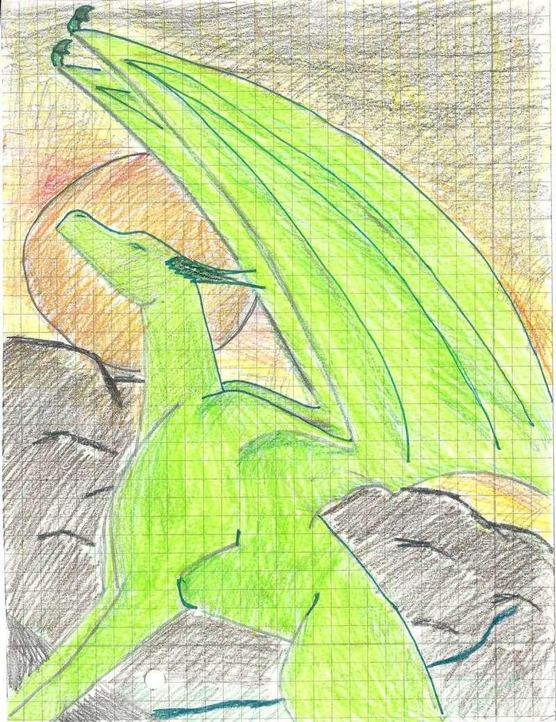 Coloured dragon Escane10