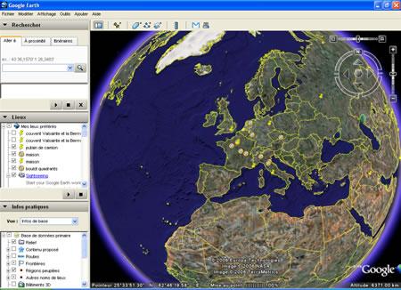 : تحميل البرنامج Google Earth  Google10