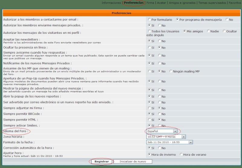 Mensagens del foro en Português? Idioma11