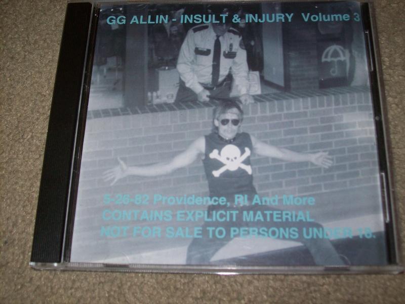 Rare GG Allin CD 100_1211
