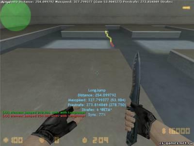 Готовый Kreedz (jump) сервер S6001010