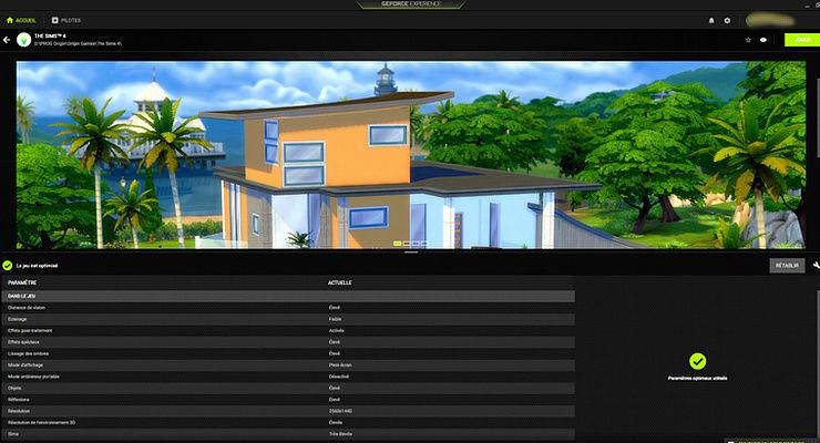 Faire Reconnaitre Sa Carte Graphique Par le Jeu SIMS 3  Nvidia10