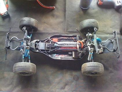 Track Star TS-201SC Competition SC Truck Tamiya12