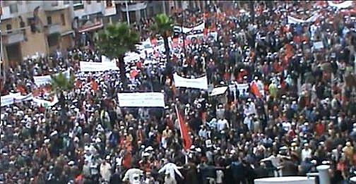 marche - Le Maroc veut 1 million , il en a eu 3 millions Mimoun15