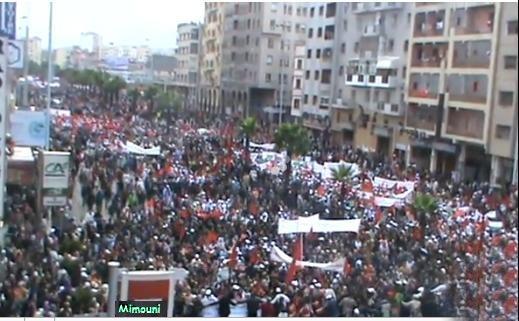marche - Le Maroc veut 1 million , il en a eu 3 millions Mimoun16