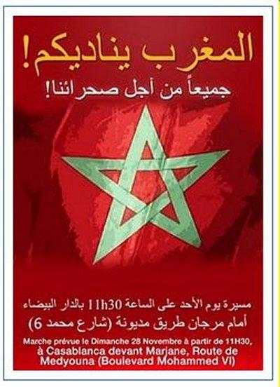 marche - Le Maroc veut 1 million , il en a eu 3 millions Mimoun18