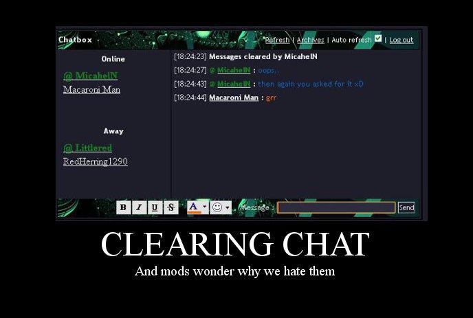 Chat Logs and Memories~ Cleari10