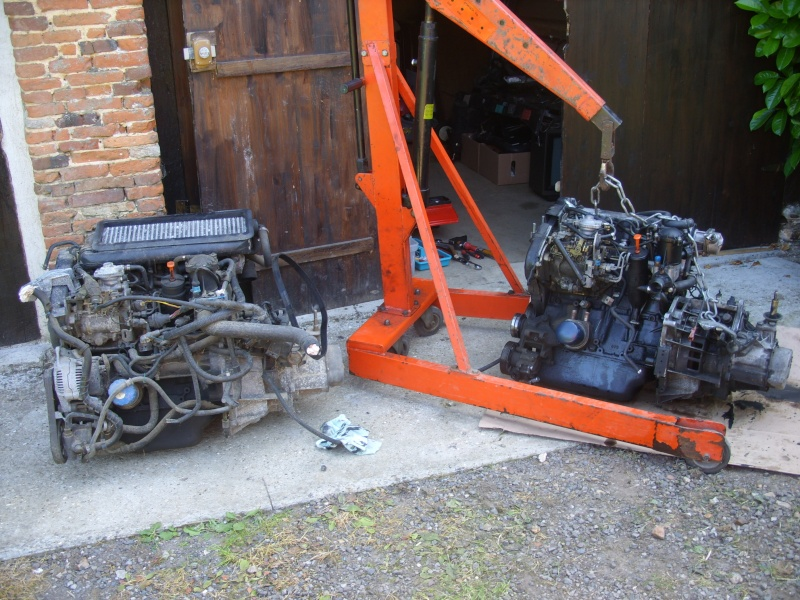 remplacement moteur Stp86614