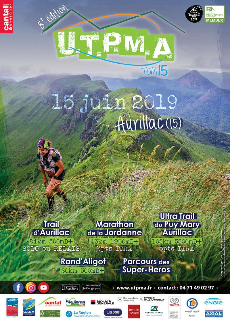 UTPMA Ultra Trail du Puy Mary Aurillac (15) Affich10