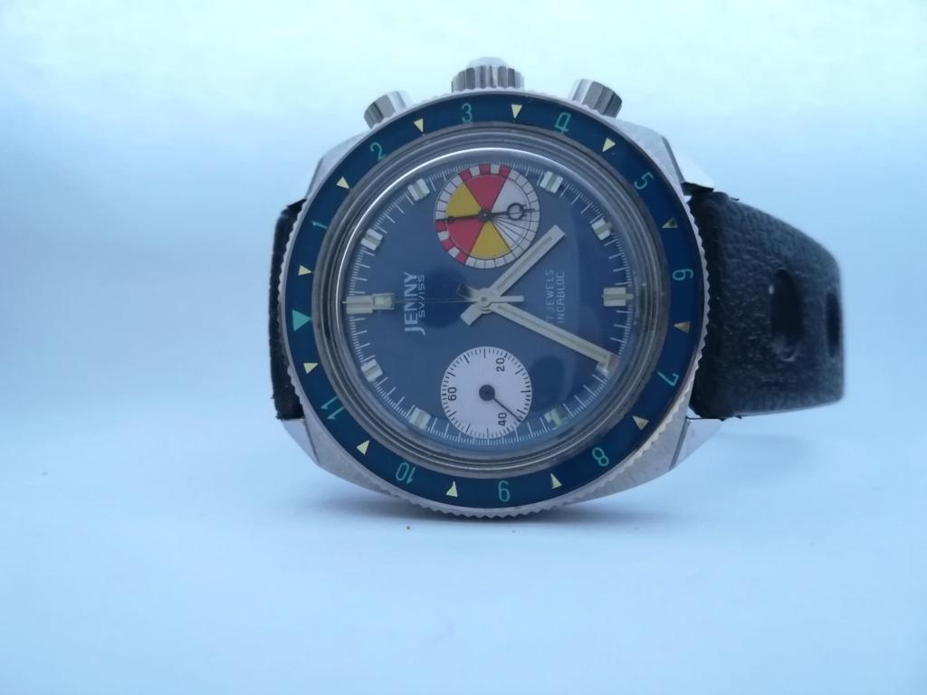 Ma dernière acquisition  peu commune, la jenny carribean 2000 chrono de 1970 Img_2044