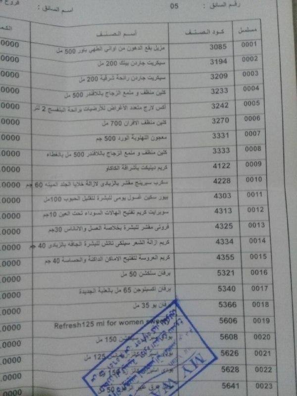 عربية منتجات فرع بني سويف اليوم السبت 24-3-2018 00000064