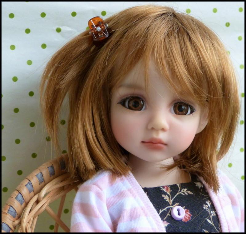 Liselotte, BJD Effner yeux verts P3 et  nouveaux bleus  P1590013
