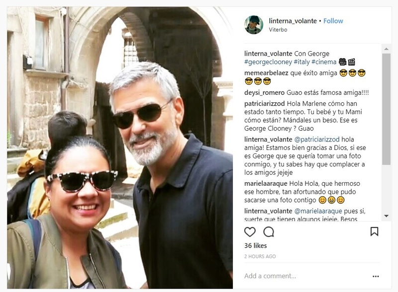 George Clooney back in Viterbo, Italy - 10 May Captur16
