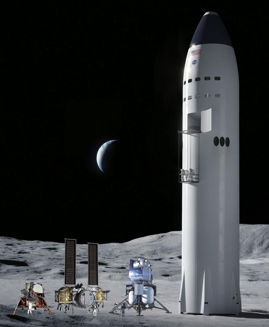 [Artemis] Atterrisseur habité (Crewed Lunar Lander) - Page 10 Artemi12
