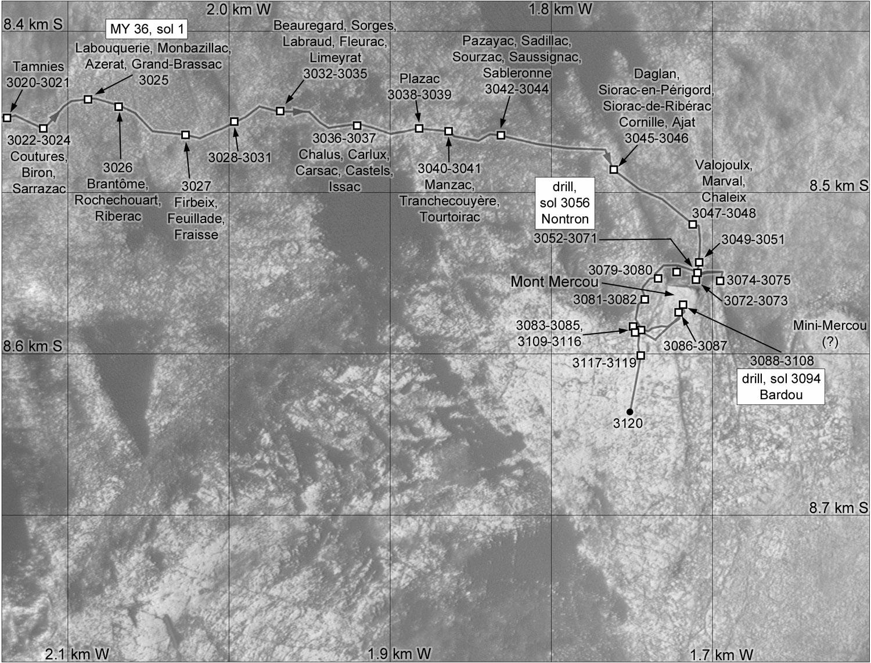 [Curiosity/MSL] L'exploration du cratère Gale (3/3) - Page 7 Locati10