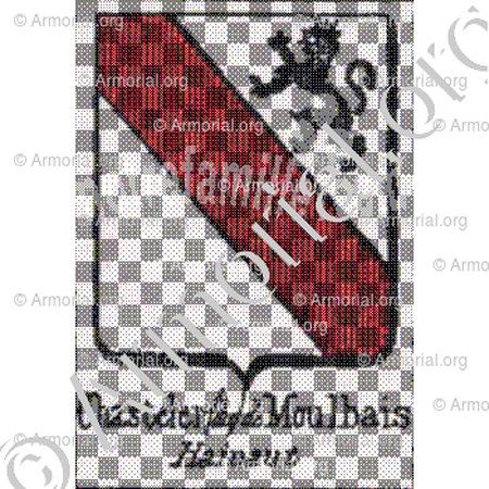 Armoiries alliance plaque cheminée 1695 98e02b10