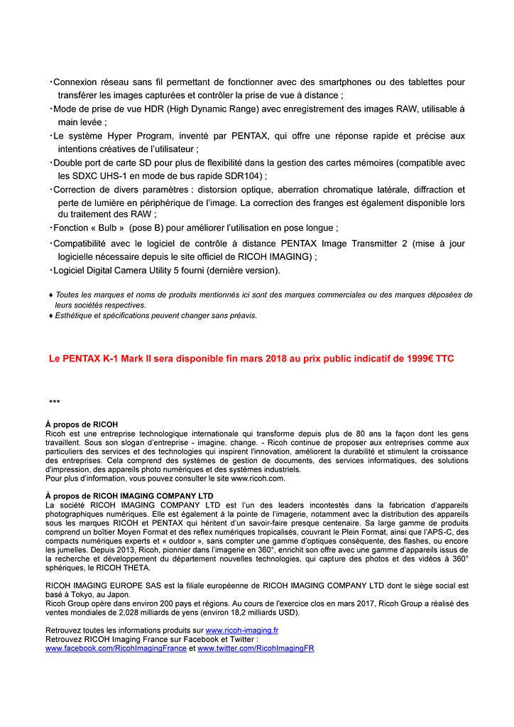 PENTAX RICOH IMAGING - Communiqué de Presse 22/02/2018 - K-1 Mark II Cp_pen14