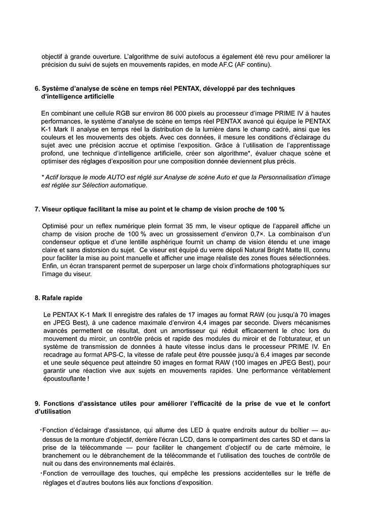 PENTAX RICOH IMAGING - Communiqué de Presse 22/02/2018 - K-1 Mark II Cp_pen15