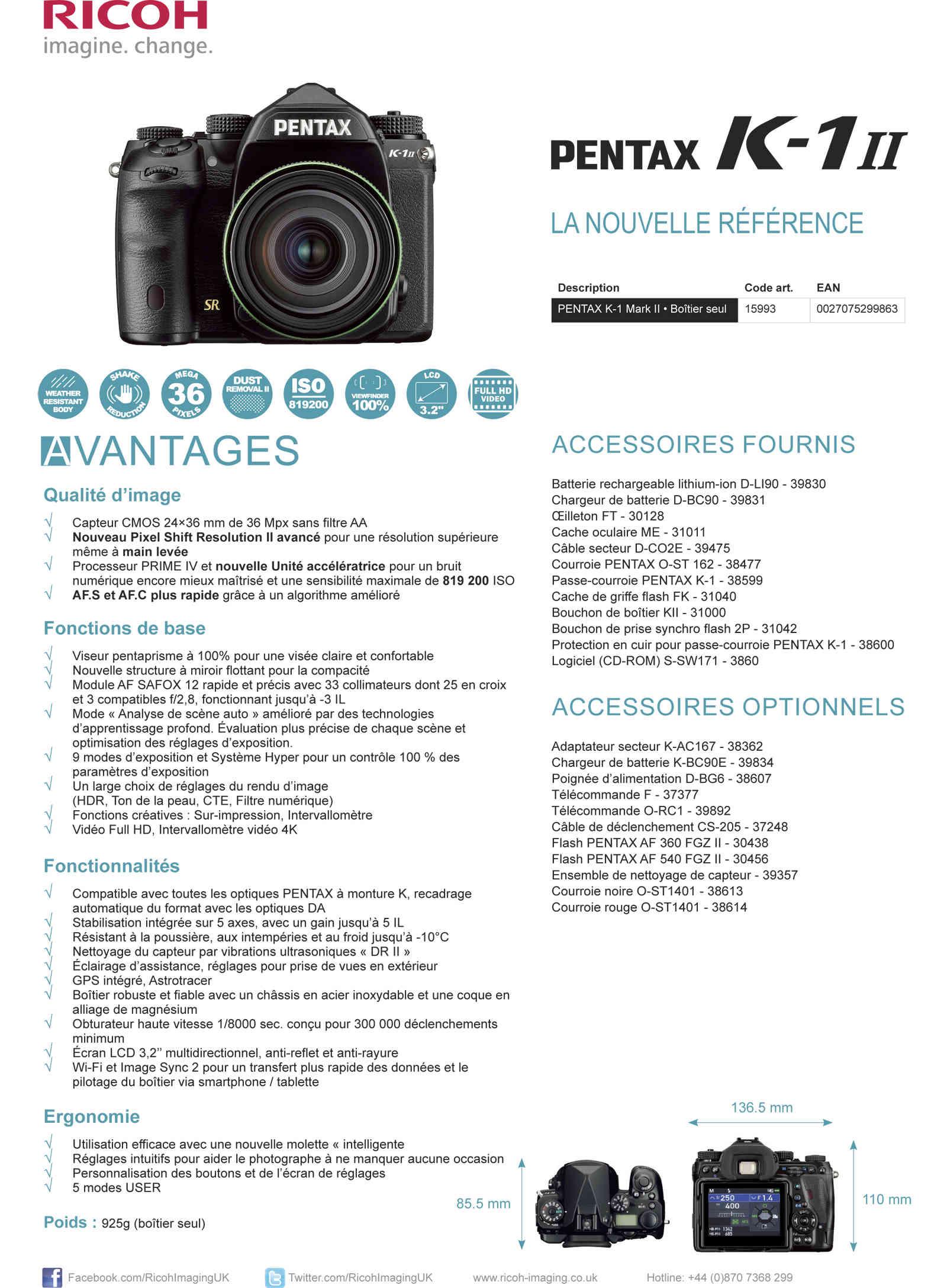 PENTAX RICOH IMAGING - Communiqué de Presse 22/02/2018 - K-1 Mark II Fiche_10