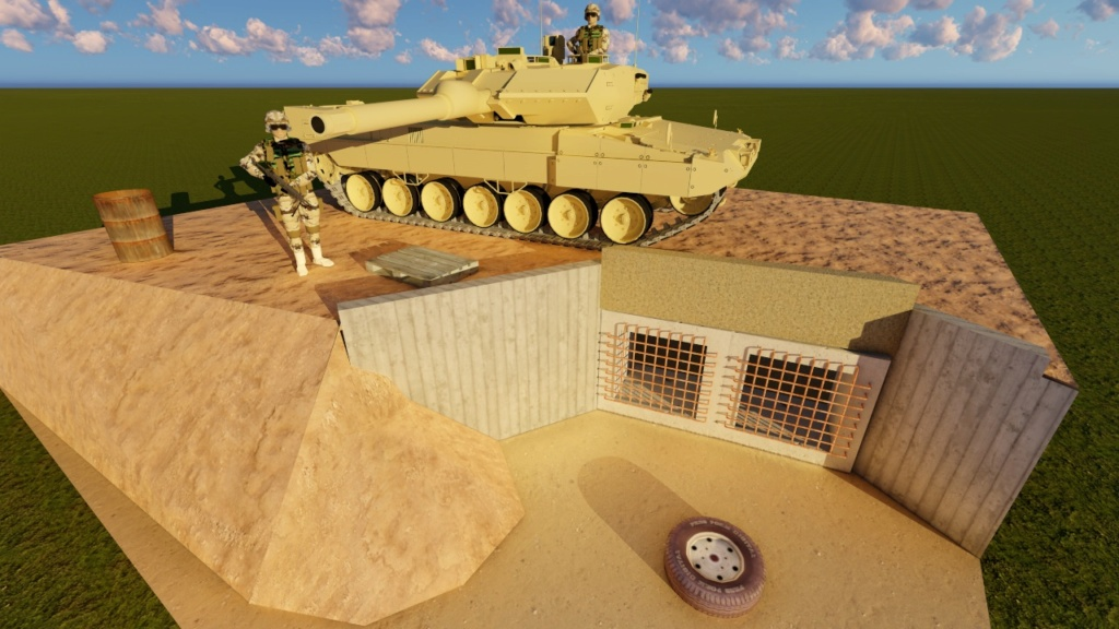 Leopard 2 A6 canadien - Afghanistan - [Tamiya mais pas que...] - Page 3 111