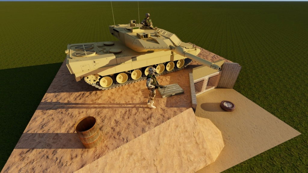 Leopard 2 A6 canadien - Afghanistan - [Tamiya mais pas que...] - Page 3 211