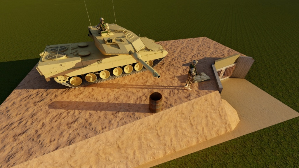 Leopard 2 A6 CAN - Afghanistan - Page 6 212