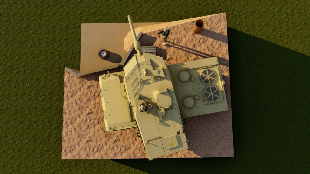 Leopard 2 A6 canadien - Afghanistan - [Tamiya mais pas que...] - Page 3 311