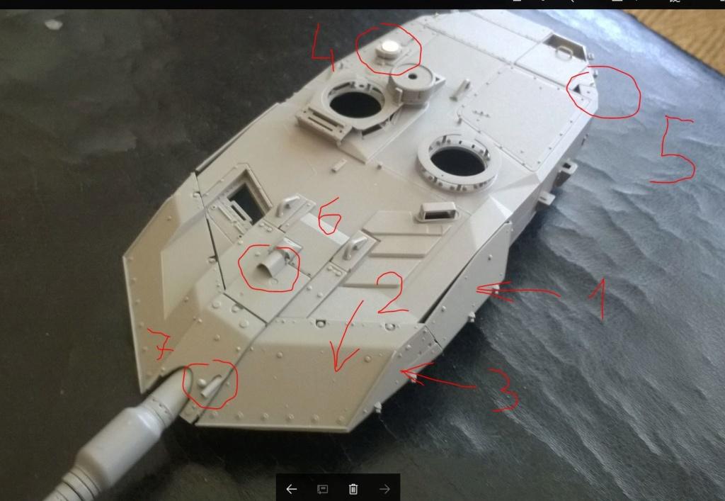 Leopard 2 A6 canadien - Afghanistan - [Tamiya mais pas que...] - Page 2 Tourel10