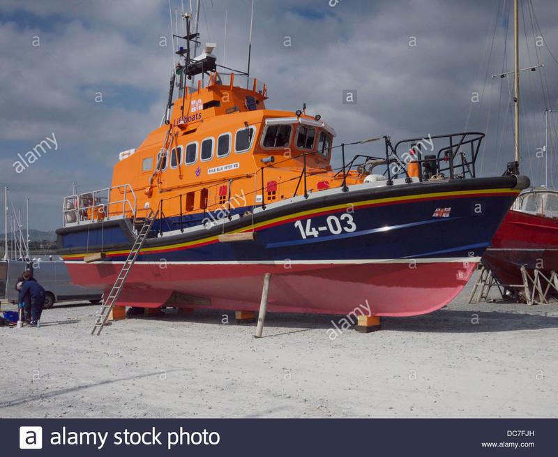 TRENT Lifeboat - MODEL SPLIPWAY Royal-10