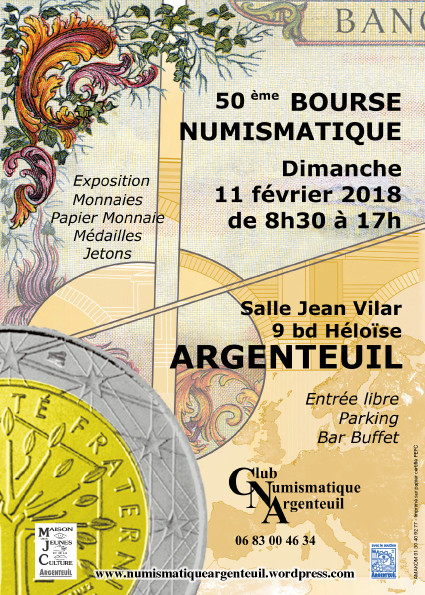 SALON NUMISMATIQUE BOURSE D'ARGENTEUIL 50eme-10