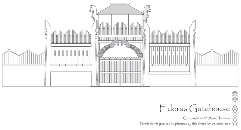 TTS - Edoras Gates (Romans style extented version) Edoras10