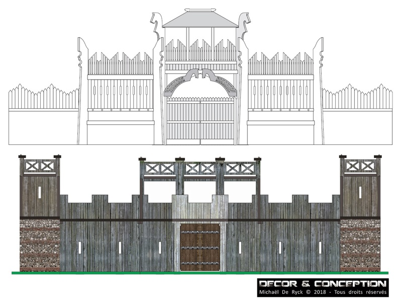TTS - Edoras Gates (Romans style extented version) Fort_r10