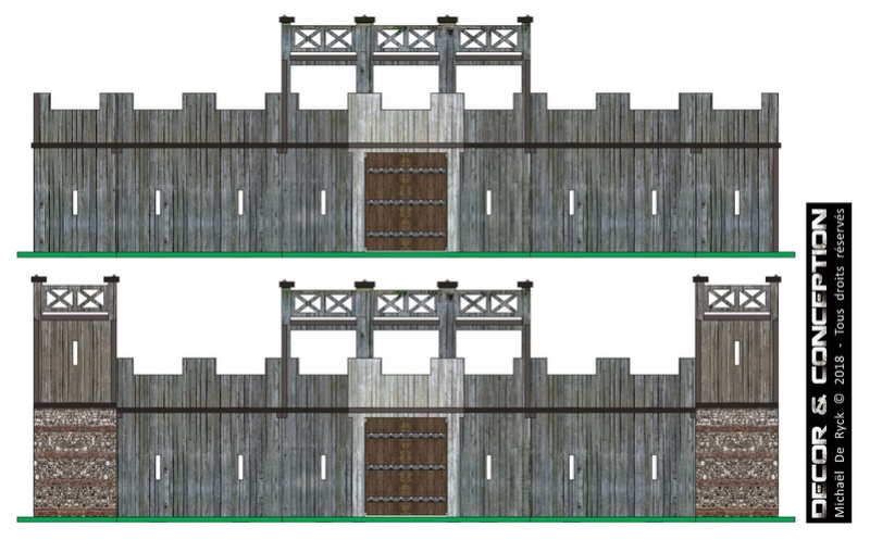TTS - Edoras Gates (Romans style extented version) Fort_r13