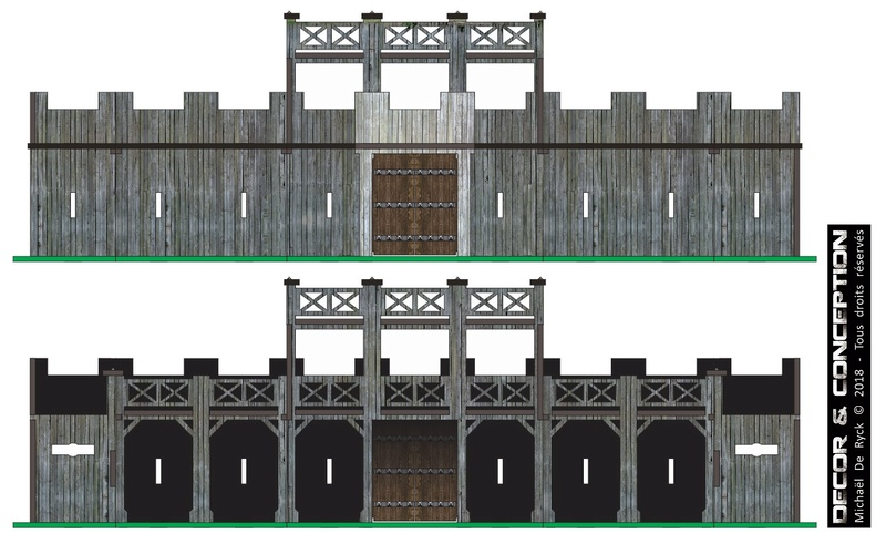 TTS - Edoras Gates (Romans style extented version) Fort_r14