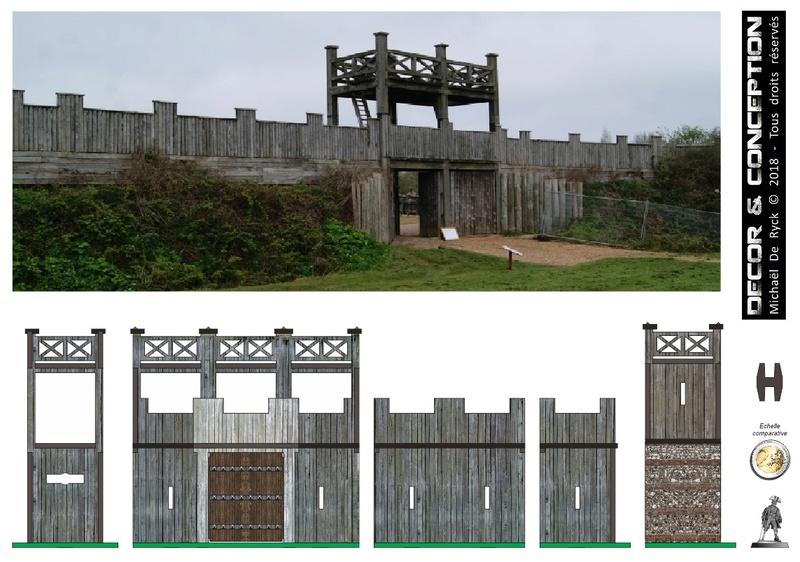 TTS - Edoras Gates (Romans style extented version) Fort_r15