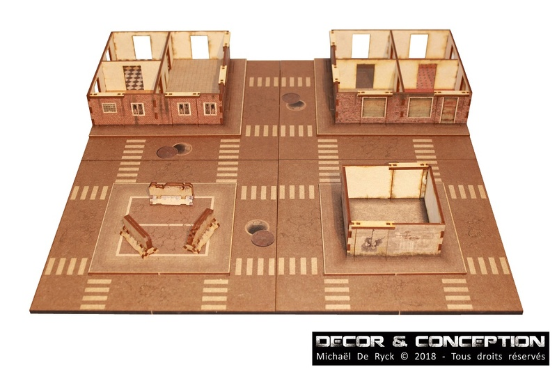 GAMEBOARD - Zombicide Boardgame 3D Img_4117