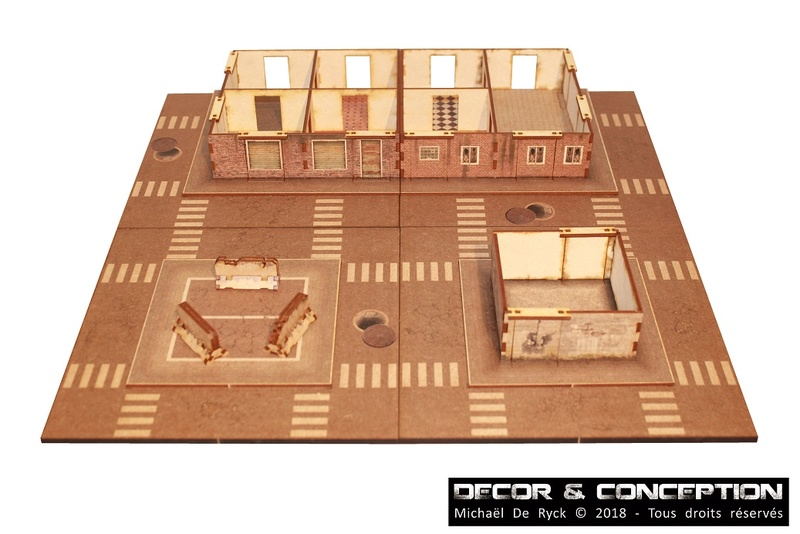 GAMEBOARD - Zombicide Boardgame 3D Img_4118