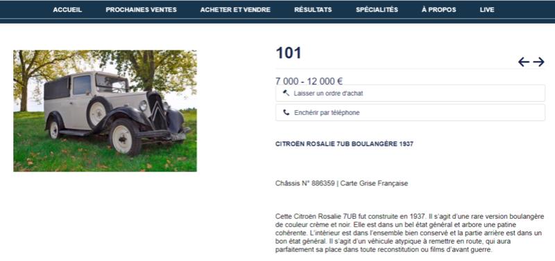 Enchères Citroy10